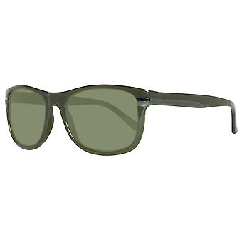 GANT glasses men's rectangular green plain sunglasses