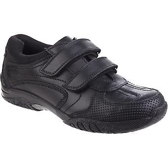 Hush valper gutter Jezza Senior skinn Smart tekstil polstret sko