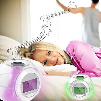 Wellindal Transparent Natural Sounds Alarm Clock
