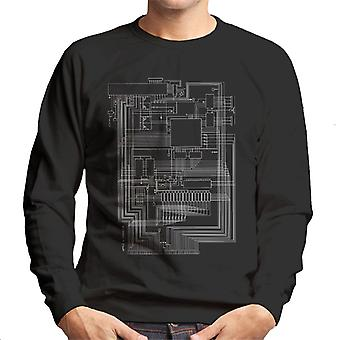 Apple I Computer Schematic Men's Sweatshirt