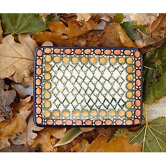 Seifenschale eckig, 12 x 8 cm, Unikat 1, BSN m-1500