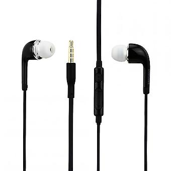 Original EO-EG900BB Samsung stereo in ear headset black, Galaxy S5 S4 S3 S2