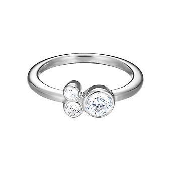 ESPRIT women's ring silver zirconia sweet Parfait ESRG92544A1