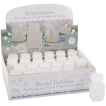 Victoria Lynn Bridal Bubbles .5oz Bottles 24/Pkg