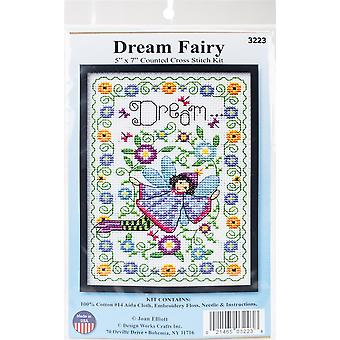 Dream Fairy Counted Cross Stitch Kit-5