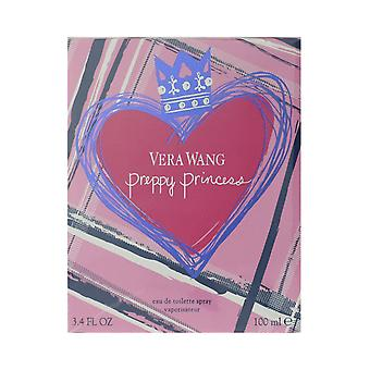 Vera Wang Preppy Princess Eau De Toilette Spray 3.4Oz/100ml New In Box