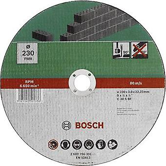 Taglio disco 230mm (dritto) 22,23 mm Bosch Accessori C 30 S BF 2609256331 1/PC