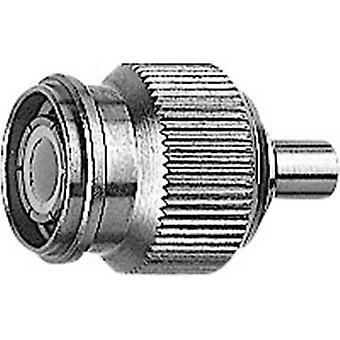 TNC connector Plug, straight 50 Ω Telegärtner J01010A0021