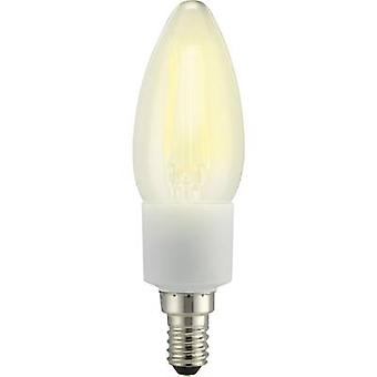 Sygonix LED EEC A++ (A++ - E) E14 Candle 4.5 W = 40 W Warm white (Ø x L) 35 mm x 117 mm Filament, dimmable 1 pc(s)
