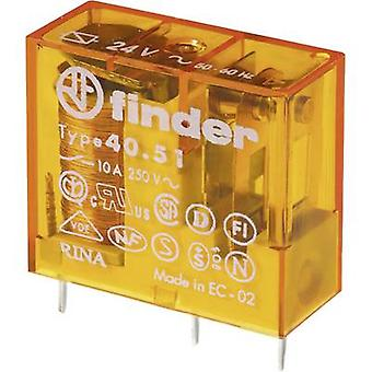 Finder 40.51.8.230.0000 PCB relays 230 V AC 10 A 1 change-over 1 pc(s)
