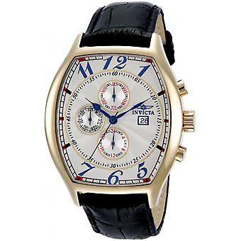 Invicta  Specialty 14330  Leather Chronograph  Watch