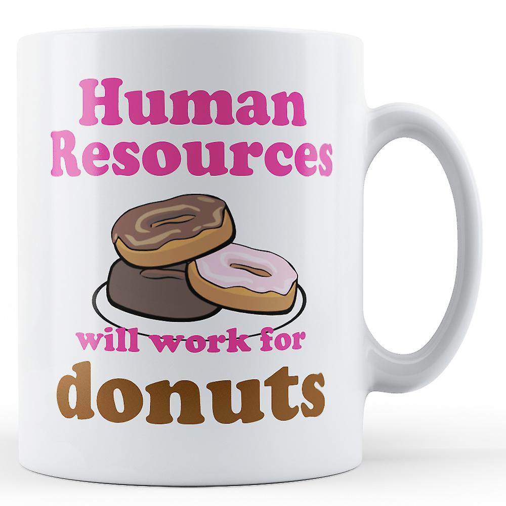 Travail De Ressources Imprimé DonutsMug Humaines Pour kuPZXi