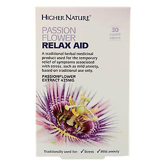 Higher Nature Passonflower Relax Aid, 30 tablets