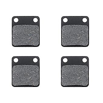KMG Front Brake Pads for 2007-2010 Yamaha YFM 350 Grizzly 2x4 2WD - Non-Metallic Organic NAO Brake Pads Set