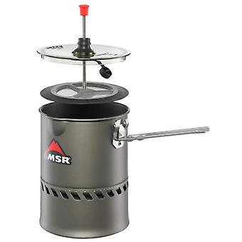 MSR Reactor Coffee Press Kit Outdoor Cooking Equipment for Camping Trips