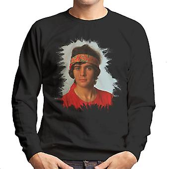 TV Times David Essex Bandana Portrait Men's Sweatshirt