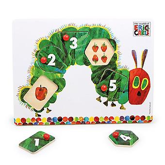Eric Carle The Very Hungry Caterpillar Wooden Peg Puzzle