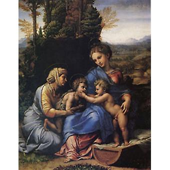 The Holy Family Known as the Little Holy Family, Raphael