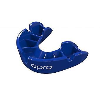 OPro Junior Bronze Gen 4 bouche garde bleu