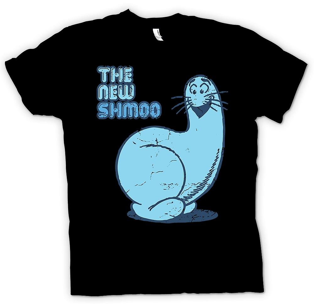 Mens T-shirt - Do you Remember The New Shmoo - Retro Cartoon