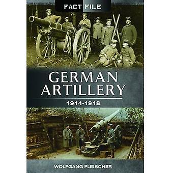 Artiglieria tedesca - 1914-1918 da Wolfgang Fleischer - 9781473823983 B