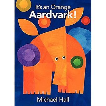 Het is een oranje Aardvark!