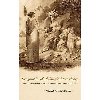 Geografiske områder af filologiske viden