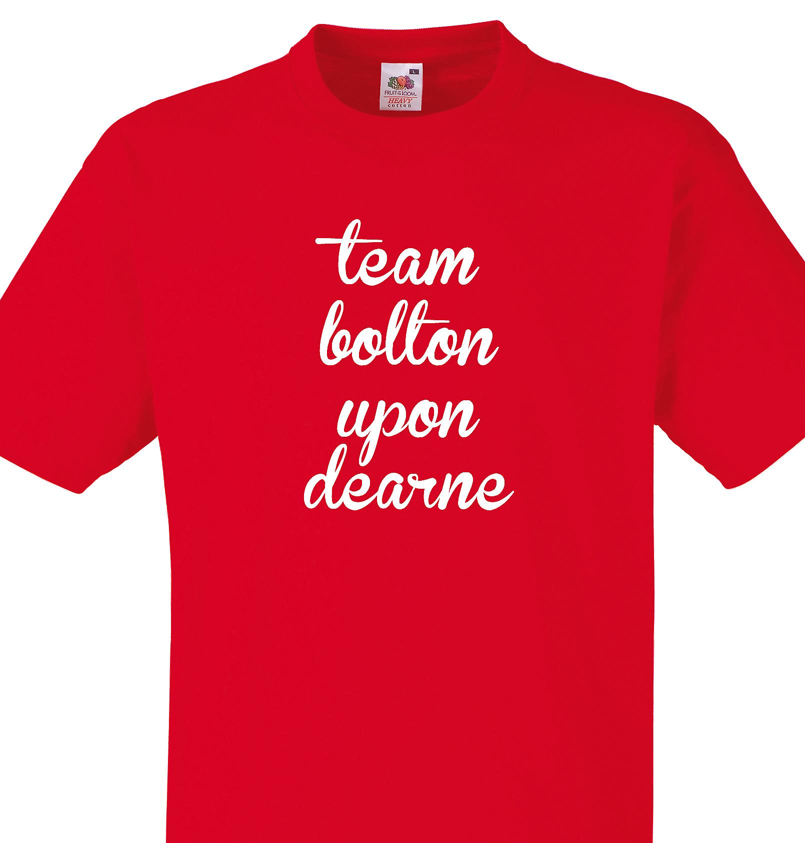 Team Bolton upon dearne Red T shirt