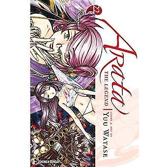 Arata: El leyenda volumen 22