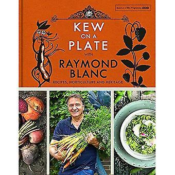 Kew sur une plaque avec Raymond Blanc (Kew Gardens)