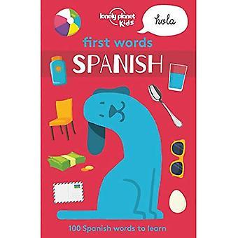Premiers mots - espagnol (Lonely Planet Kids)