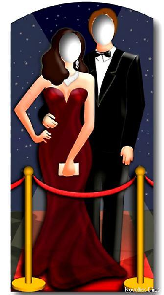 Red Carpet Couple Stand-In