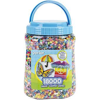 Perler Fused Beads 18,000/Pkg-Multicolor