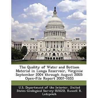 La qualità dell'acqua e materiale di fondo in Lunga serbatoio Virginia settembre 2004 attraverso agosto 2005 OpenFile relazione 20071053 dal Dipartimento USA della interni & Uniti