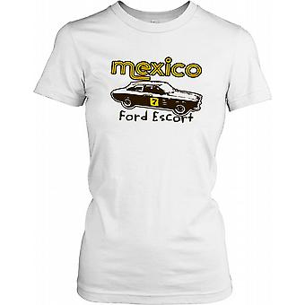 Ford Escort Mexico - Classique dames Sports Car T-shirt