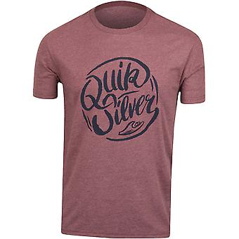Quiksilver Mens Riverside T-Shirt-lila/svart
