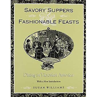 Savoureux dîners et fêtes à la mode: les restaurants à Victorian America