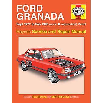 Ford Granada Owner's Workshop Manual - 9780857337030 Book