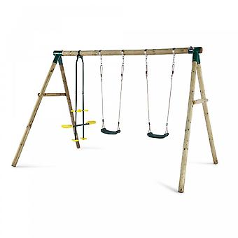 Colobo de ciruela madera Swing Set