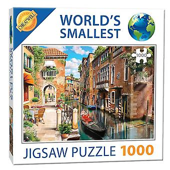 World's Smallest 1000 Piece Jigsaw - Venetian Canals (1000 Pieces)