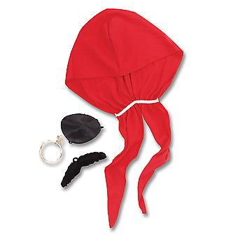 Bristol Novelty Pirate Costume Accessori Kit