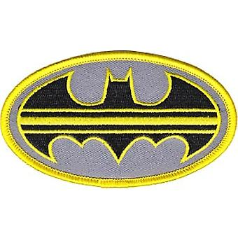 Patch - DC Comic - Batman - striped Logo Iron On Gifts Toys New p-dc-0094