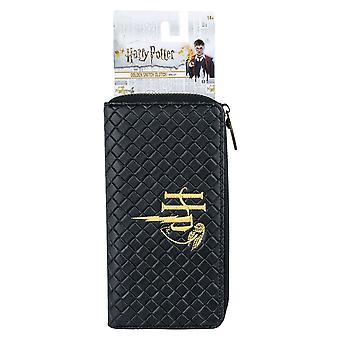 Harry Potter gestikt logo Clutch portemonnee