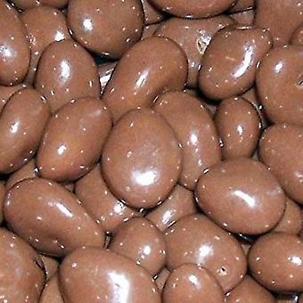 1 zakje 200g zak chocolade rozijnen