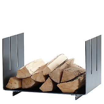 Arte Puro Kaminholzlege Wood-In aus geöltem Stahl