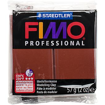 Fimo Professional Soft Polymer Clay 2oz-Chocolate EF8005-77