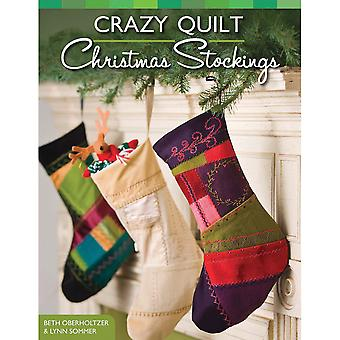 Design Originals Crazy Quilt Christmas Stocking Do 3483