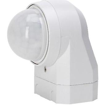 Wall, Surface-mount PIR motion detector Kopp 824617011 240 ° Relay White IP54