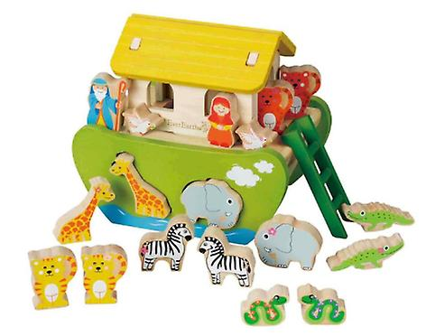 EverEarth Noah's Ark Wood (Toys , Preschool , Puzzles And Blocs)