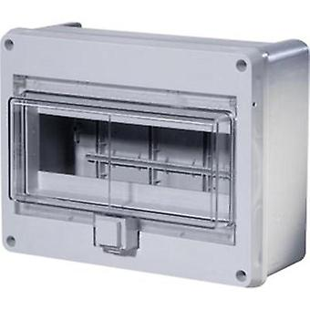 Switchboard cabinet Surface-mount No. of partitions = 10 No. of rows = 1 F-Tronic 7240052